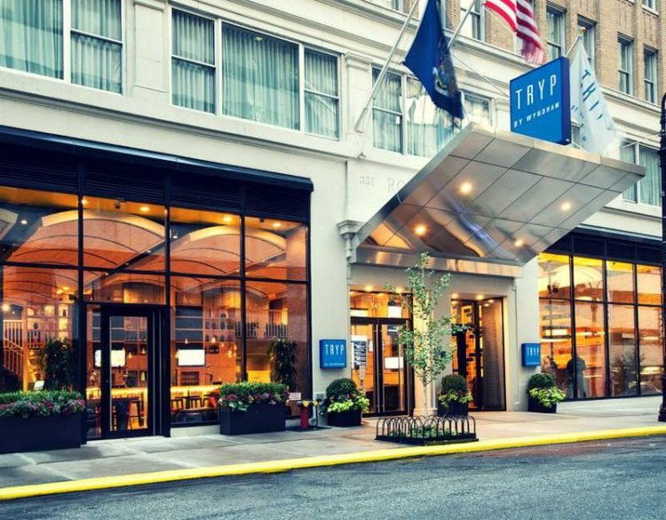 TRYP By Wyndham Times Square South exterior in NYC