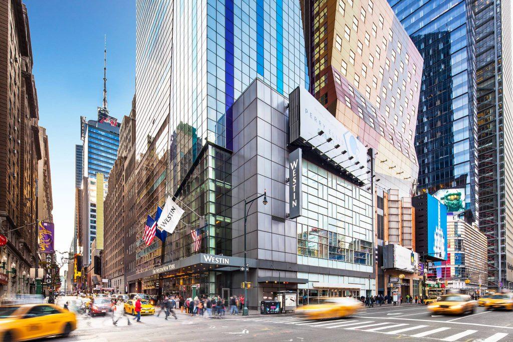 The Westin NYC hotel exterior