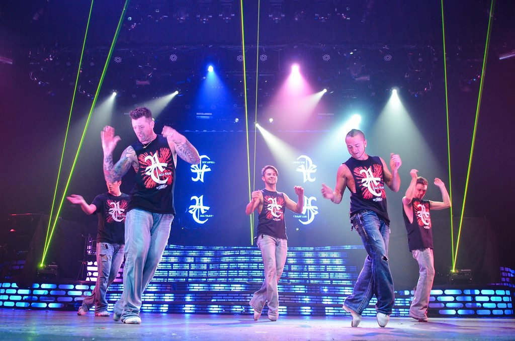 Thunder & Light perform on stage in Myrtle Beach