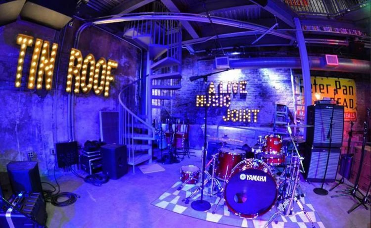 Tin Roof music venue in Myrtle Beach, SC
