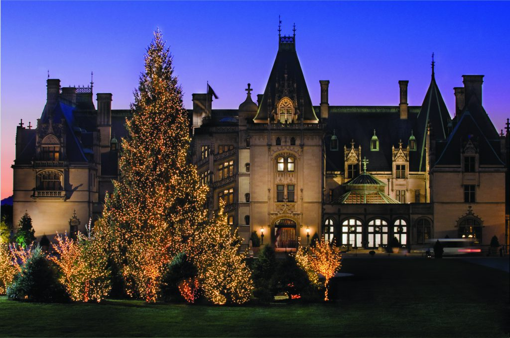 The Biltmore Estate at Christmas time