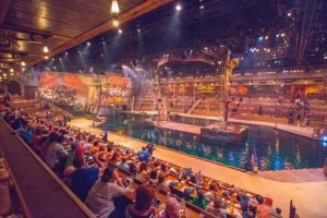 The arena at Pirates Voyage in Myrtle Beach