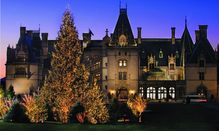 Biltmore Christmas display