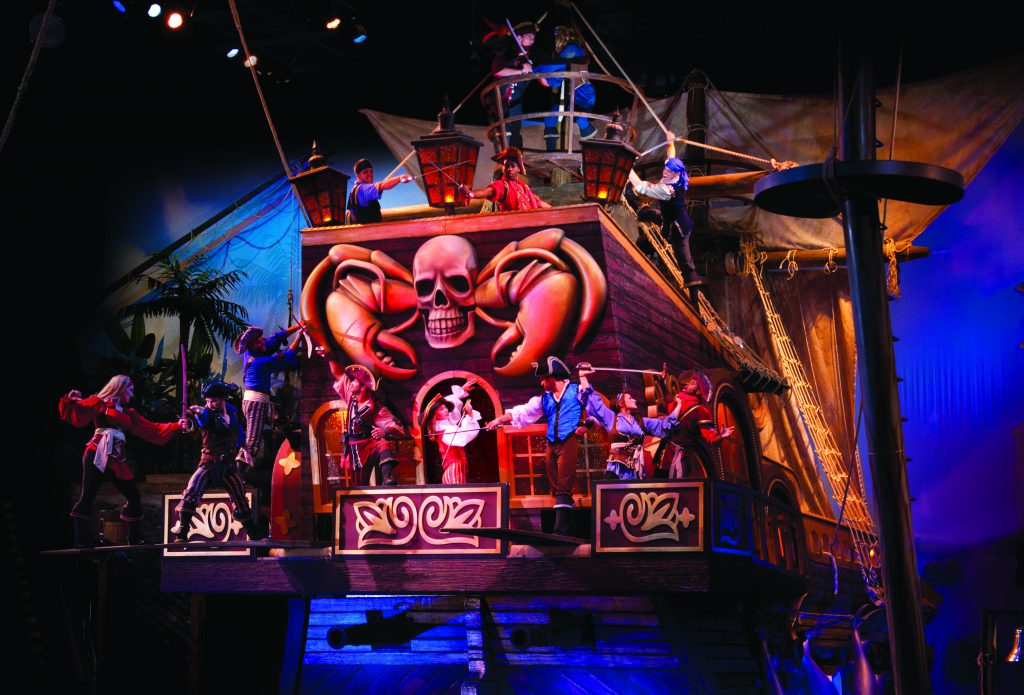 Pirates Voyage Pigeon Forge TN indoor pirate ship