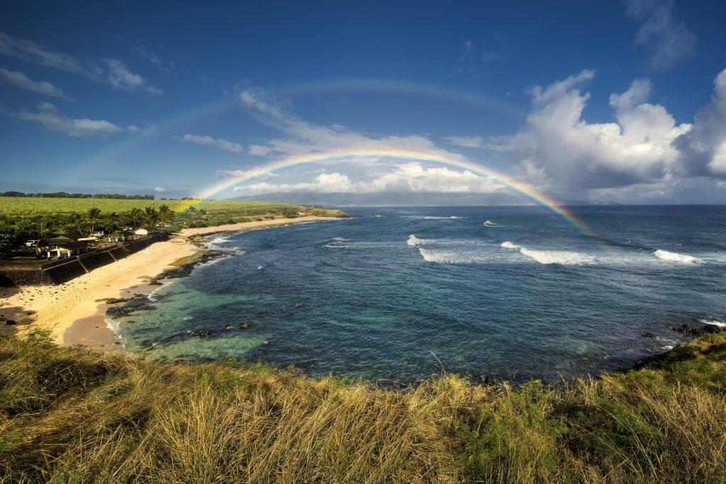 Ho'okipa Beach Park, north shore of Maui, Hawaii