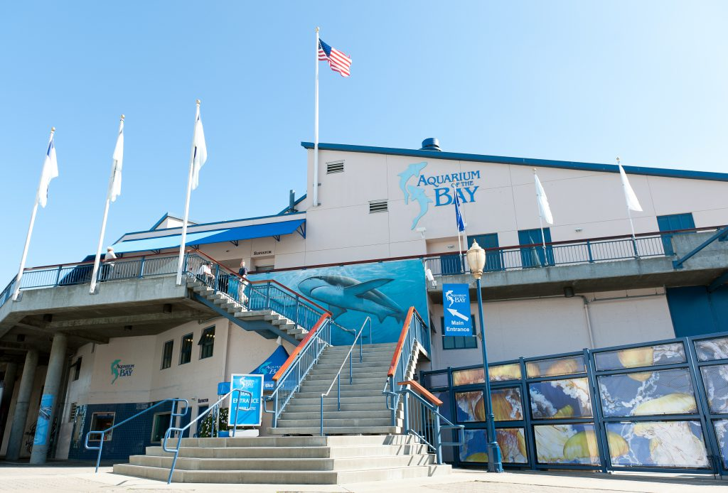 Aquarium of the Bay exterior