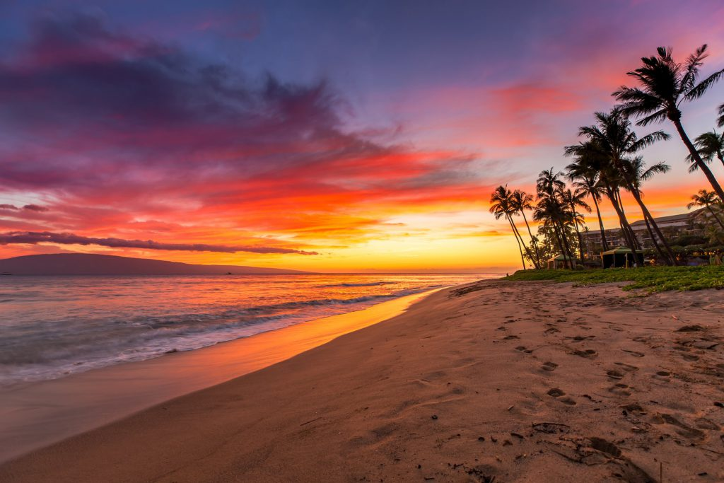 Image result for maui sunset