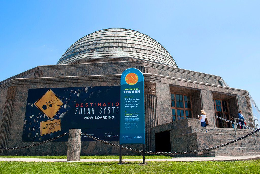Destination Solar System show at Adler Planetarium