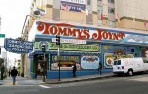 Exterior of Tommy's Joynt in San Francisco