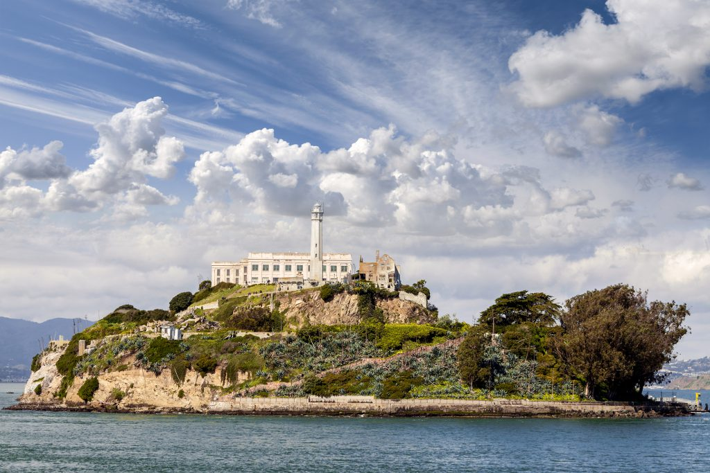 Alcatraz Island is one of the best things to do at Fisherman's Wharf