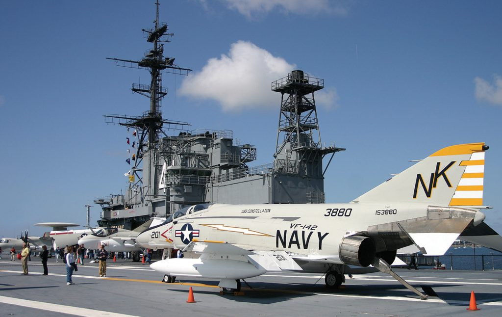Among the best things to do in San Diego with teenagers is the USS Midway Museum.