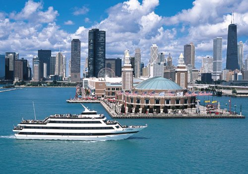 A Spirit of Chicago dinner cruise is an excellent way to spend New Year's Eve in Chicago