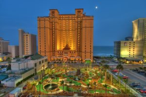 When searching for Myrtle Beach hotels with free parking, choose the Anderson Ocean Club