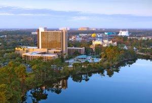 Book a room at the Wyndham Lake Buena Vista Resort in Orlando