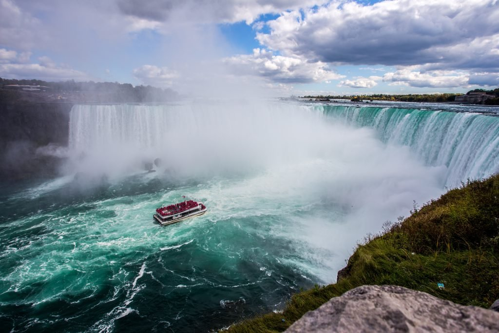 Experience extreme adventures like a boat tour while visiting Niagara Falls in Canada and America