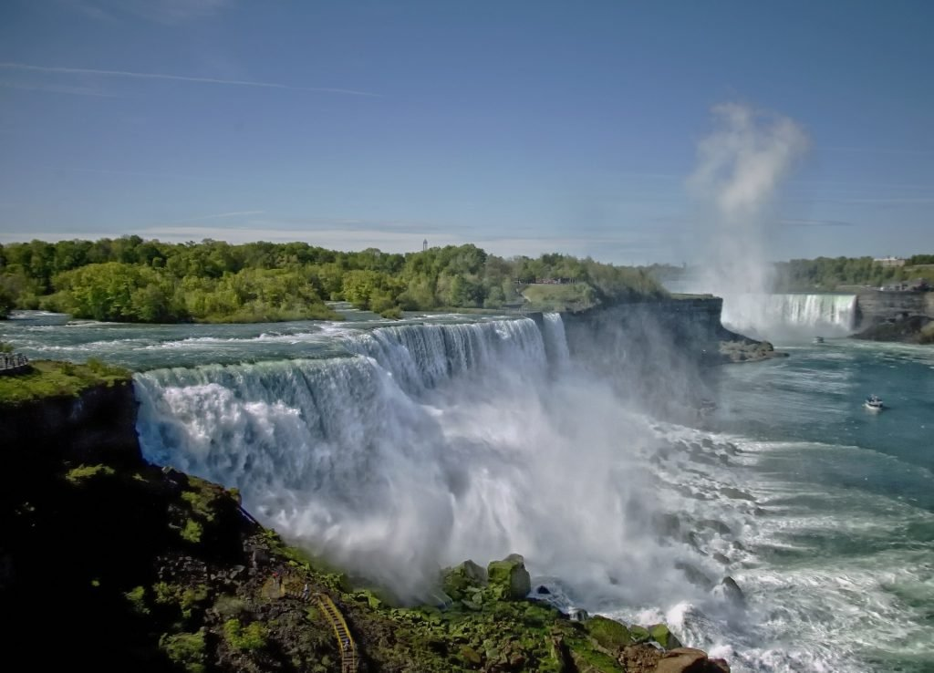 With views like these, it's no wonder there are several parking lots available when visiting Niagara Falls