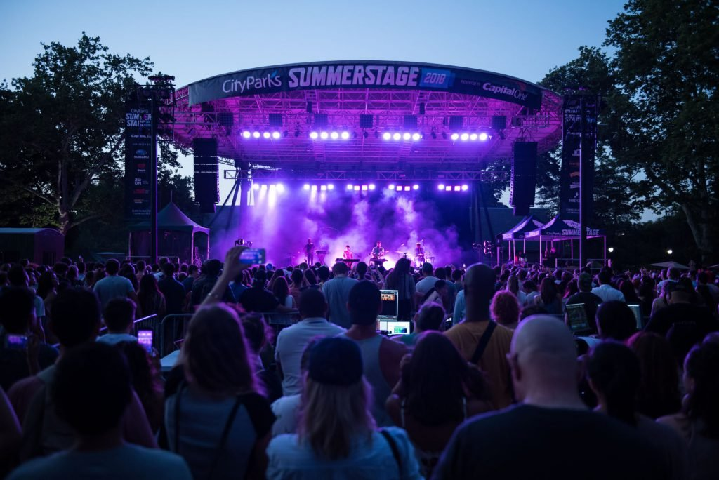 Going to a concert is among the best things to do in Central Park