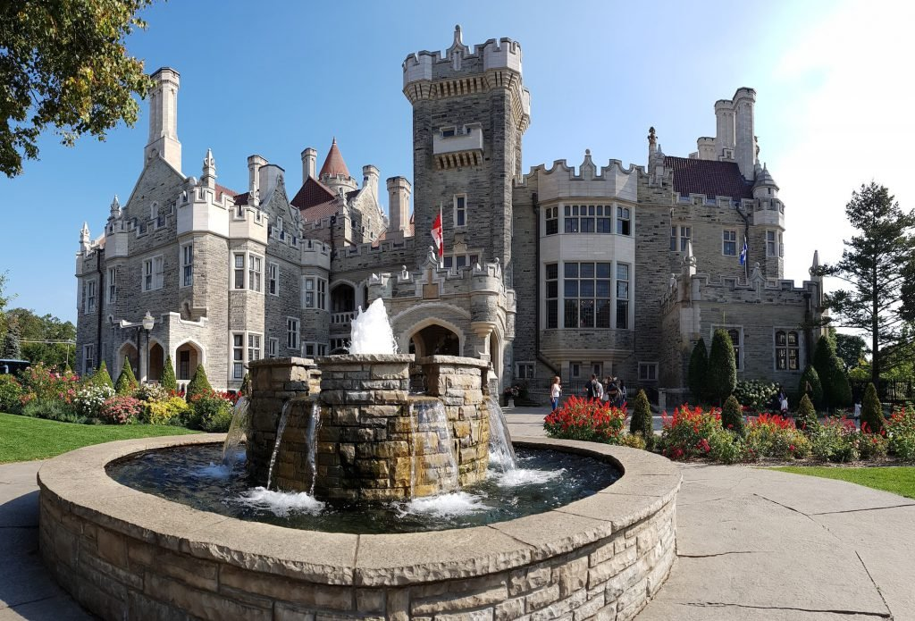Visiting Casa Loma Castle is one of the free things to do in Toronto