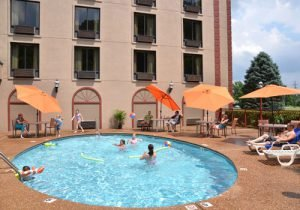 Country Cascades Waterpark Resort has indoor and outdoor pools