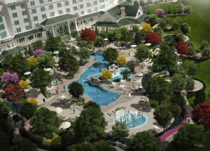 Dollywood's DreamMore Resort offers both indoor and outdoor pools
