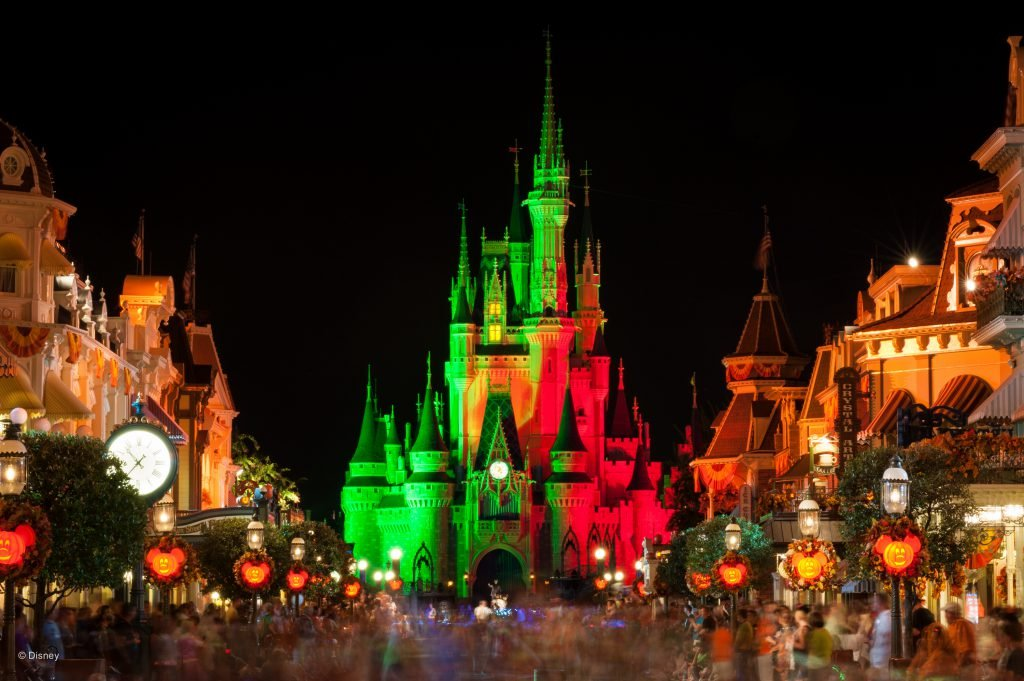 Disney World Events in Fall include Mickey's Not-So-Scary Halloween Party in the Magic Kingdom