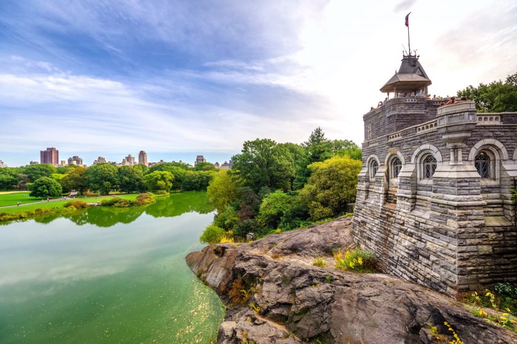 A trip to Belvedere Castle is among the most entertaining things to do in Central Park