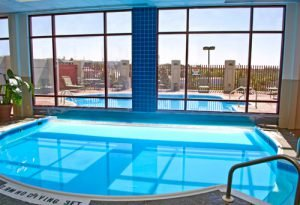 Book a room at the Radisson Hotel in Branson and take advantage of the indoor and outdoor pools