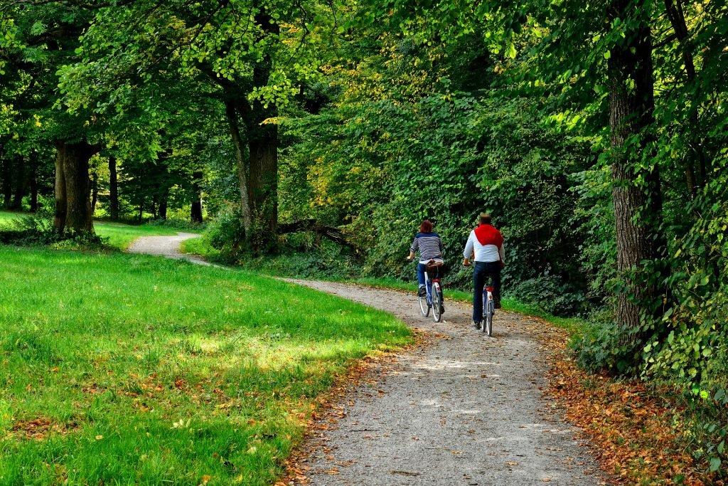 The C&O Canal Trail is a wonderful outside activity and is also a one of the most relaxing free things to do in Washington DC