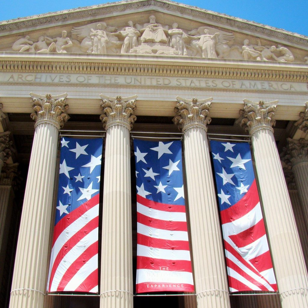 Free things to do in Washington DC also include viewing the impressive documents on display at the National Archives