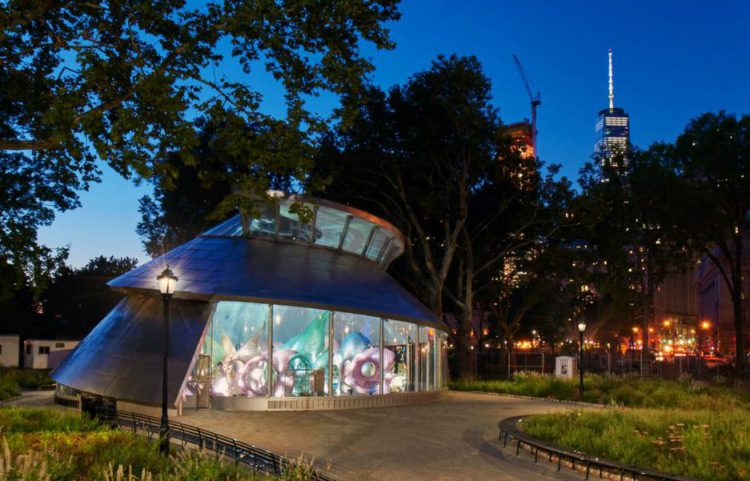 The SeaGlass Carousel is among the most whimsical hidden gems in NYC