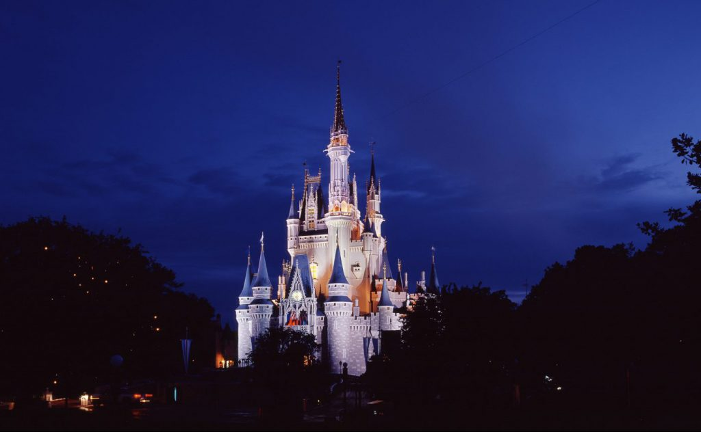 Disney World theme parks are close to Kissimmee, Florida