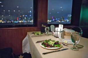Among the sweet things to do in San Diego for couples is a dining cruise