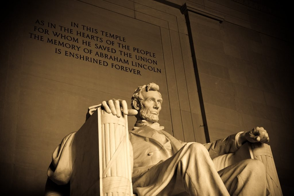 Spend time at the Lincoln Memorial on your weekend in Washington DC