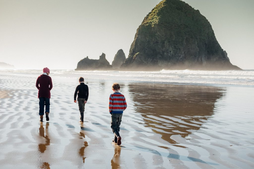 Cannon Beach is by far one of the most unique affordable family beach vacations