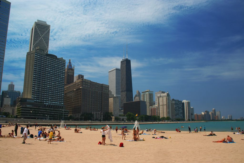 One of the best things to do during summer in Chicago is hit the beach