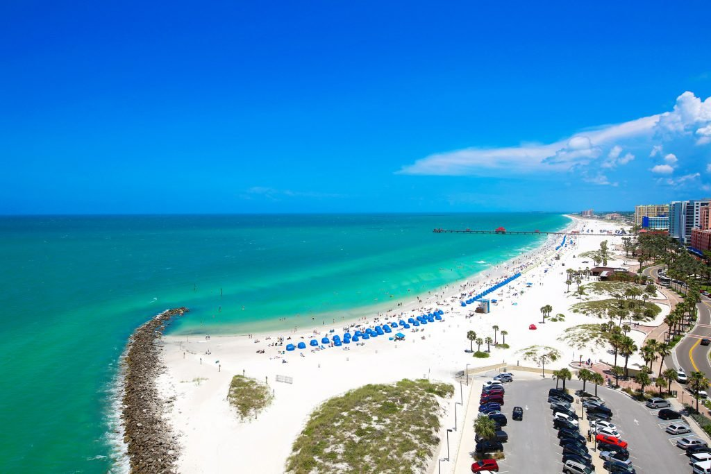 St. Petersburg, Florida is also among the top affordable family beach vacations