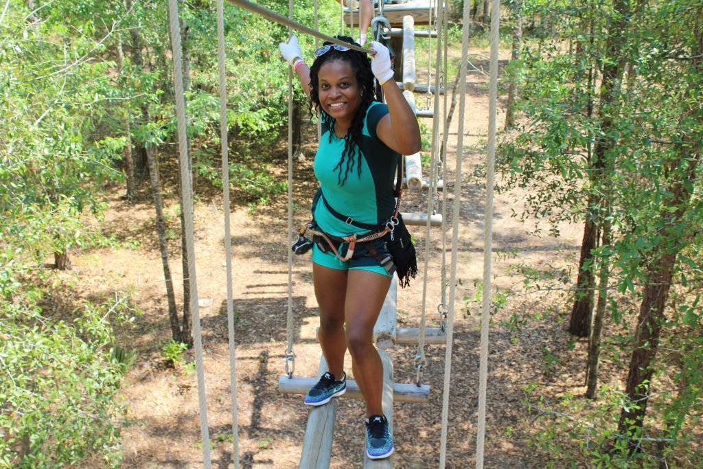 Ready for Adventure? Go to Orlando Tree Trek Adventure, one of the top things to do in Kissimmee!