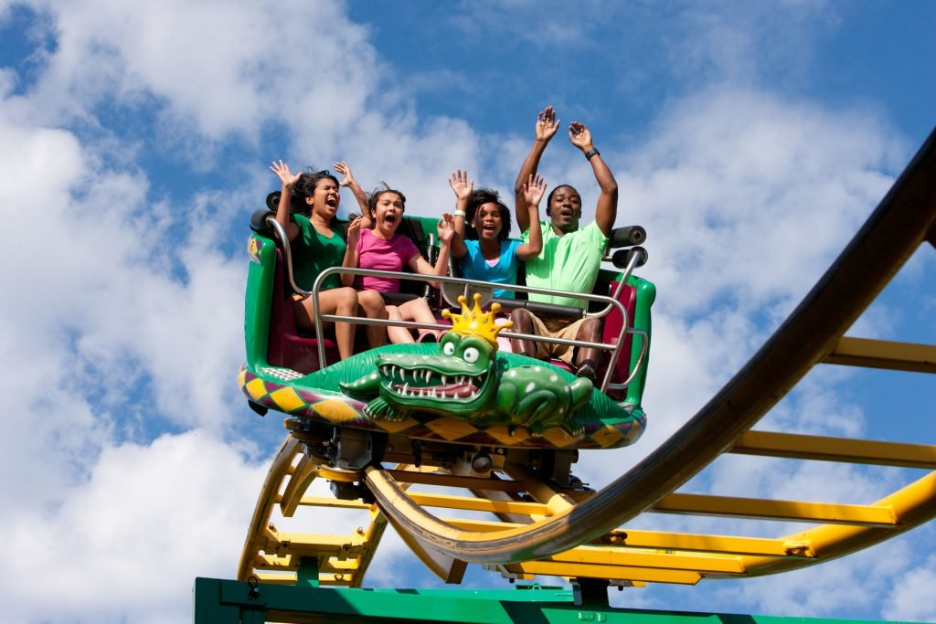 Take a trip to Six Flags America during your weekend in Washington DC