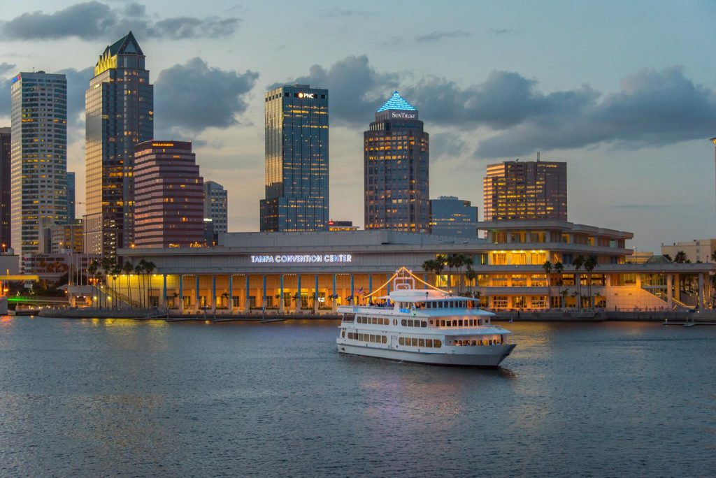 Sail around Tampa Bay as one of the best thing to do in Tampa at night