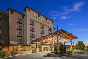 Among the top places to stay in Pigeon Forge is Springhill Suites, shown here.