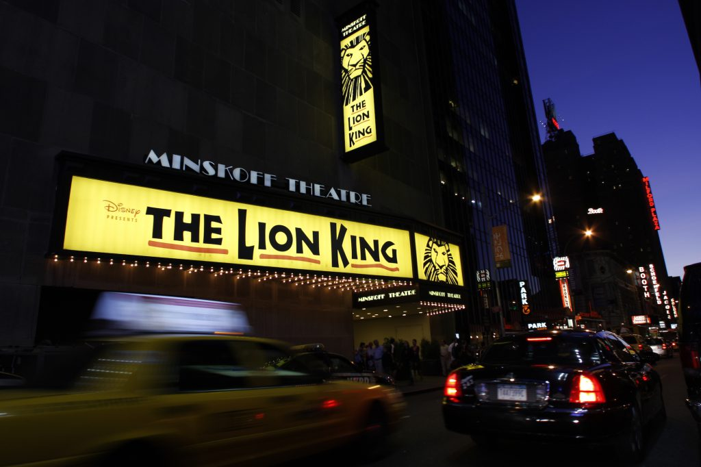 See the Lion King in New York City on a budget