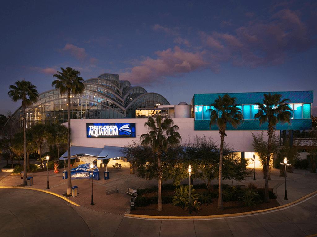 The Florida Aquarium is also one of the best aquariums in the US