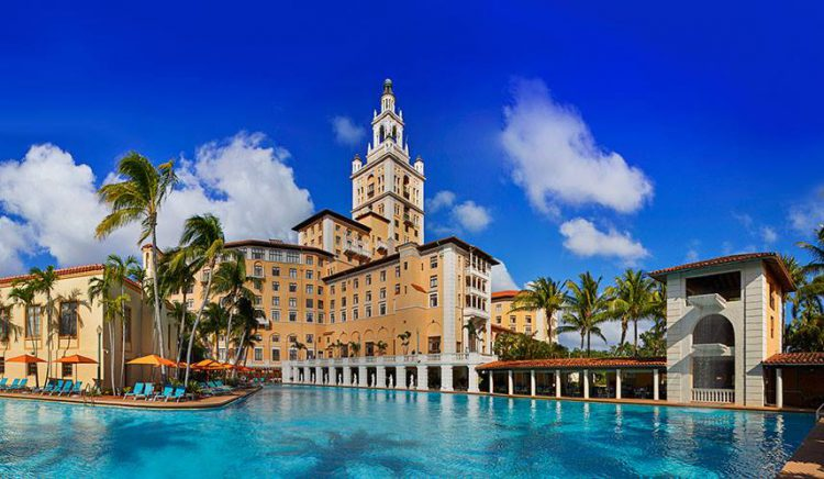 The Biltmore Hotel in Miami offers complimentary tours as one of the free things to do in Miami