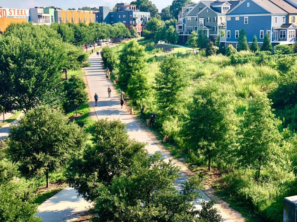 Walking the BeltLine is among the best free things to do in Atlanta