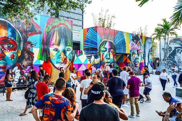 Visiting Wynwood Walls is one of the top free things to do in Miami