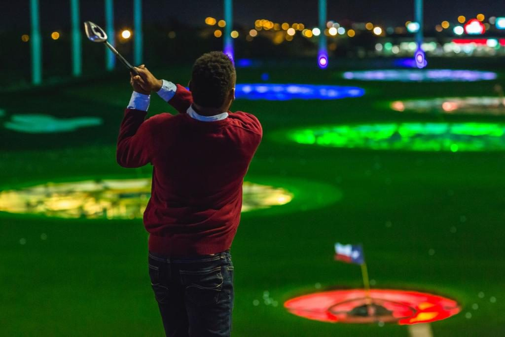 Things to Do in San Antonio at night include going to TopGolf