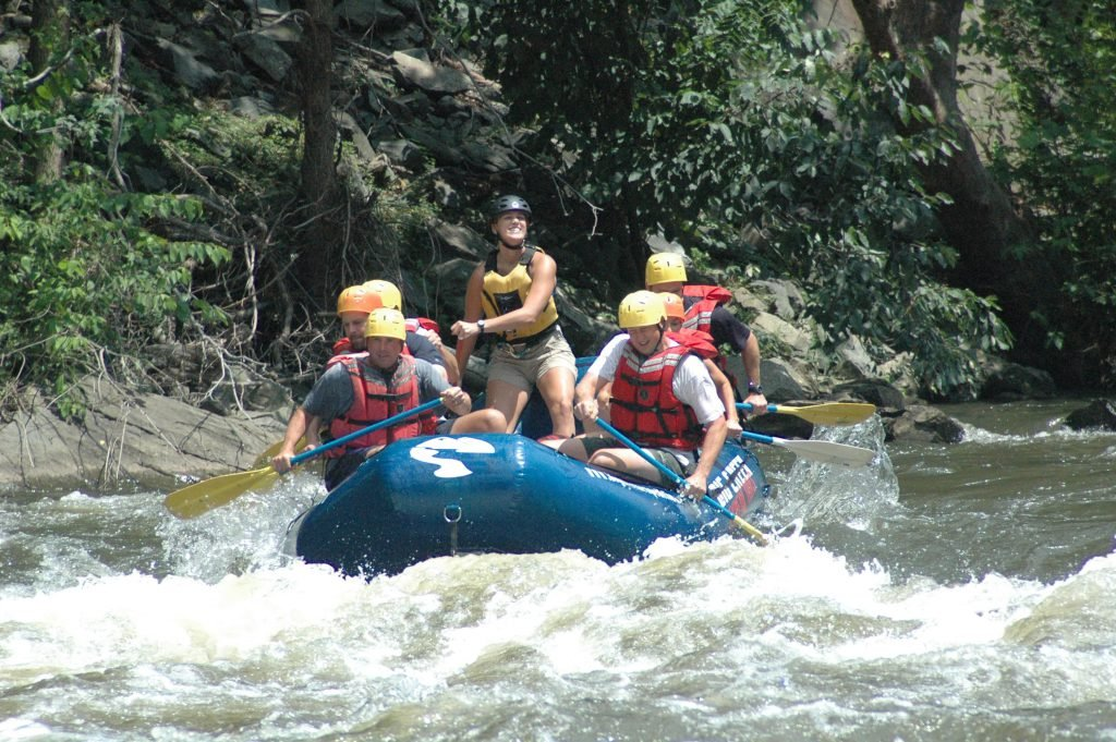 White water rafting should be on your Gatlinburg itinerary