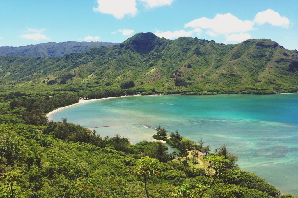 Kahana Bay in Oahu is one of the most underrated places in Hawaii.