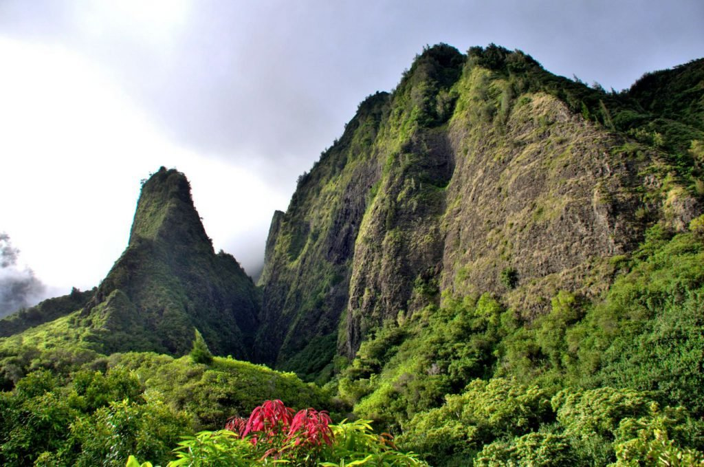 The Iao Valley Needle is considered among the underrated places in Hawaii.