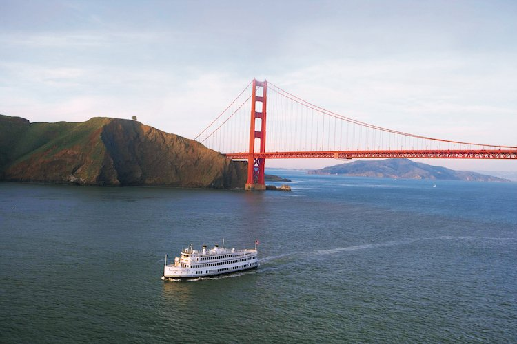 Cruising around the bay is one of the best things to do in San Francisco for couples